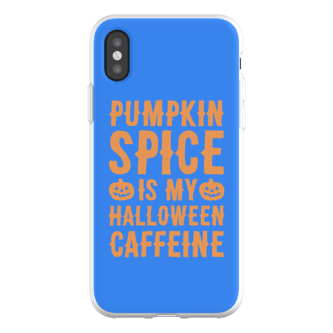 Halloween Caffeine Phone Flexi-Case