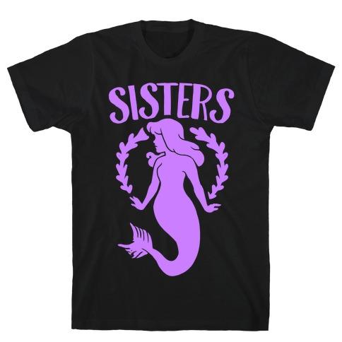 Mermaid Sisters (Purple) T-Shirt