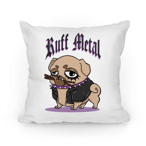 Ruff Metal Pillow