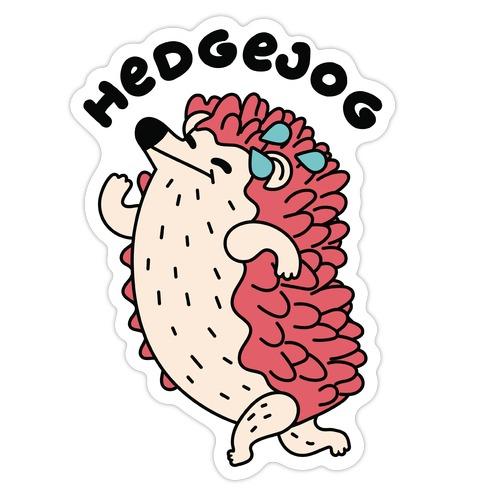 HedgeJog Die Cut Sticker