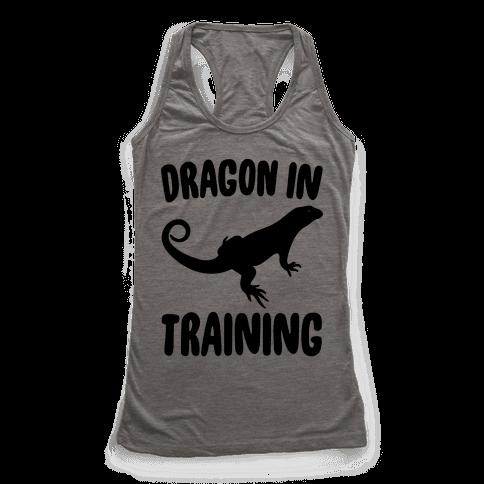 Dragon In Training  Racerback Tank Top