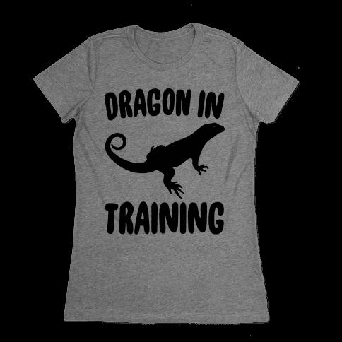 Dragon In Training  Womens T-Shirt