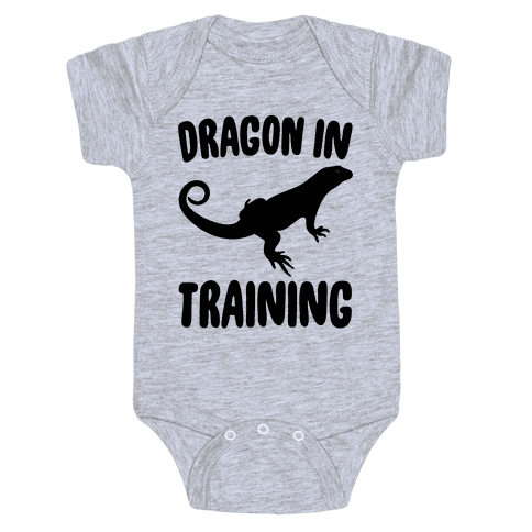 Dragon In Training  Baby Onesy
