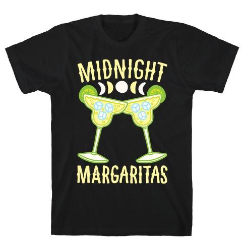 Midnight Margaritas White Print T-Shirt