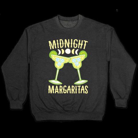 Midnight Margaritas White Print Pullover