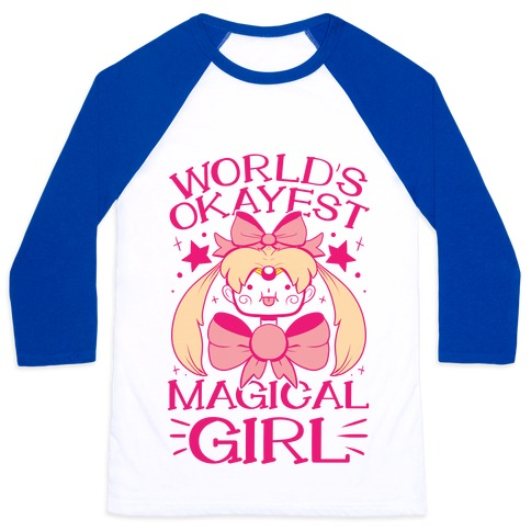 World's Okayest Magical Girl Baseball Tee