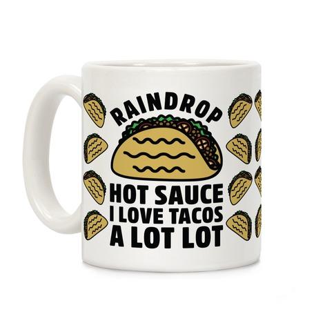 Raindrop Hot Sauce Coffee Mug