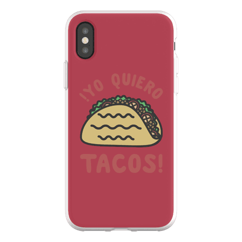 Yo Quiro Tacos Phone Flexi-Case