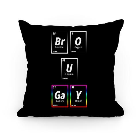 BrO U GaY Pillow