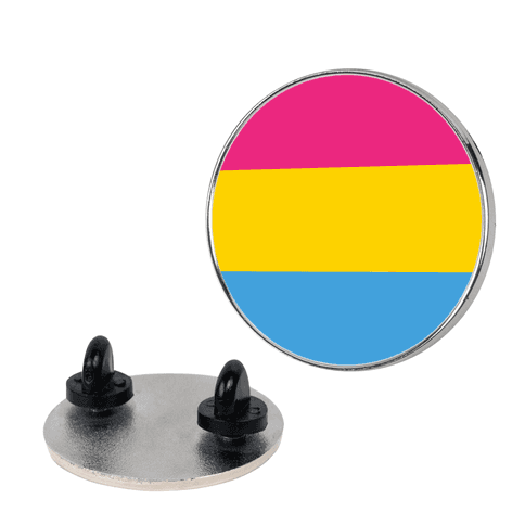 Pan Pride Flag pin