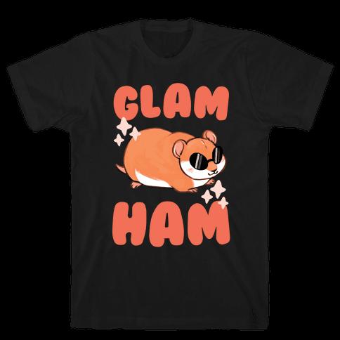 Glam Ham Mens T-Shirt