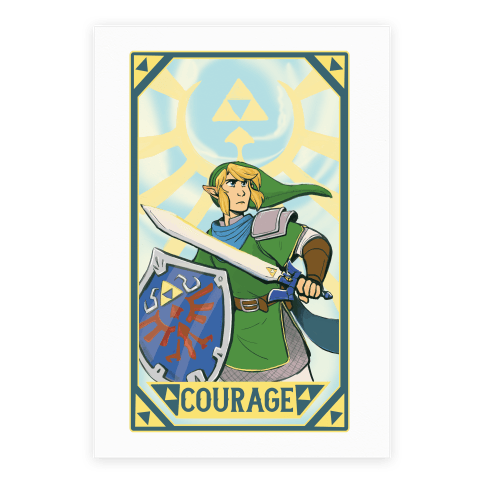 Courage - Link Poster