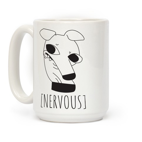 Nervous Dog Coffee Mug