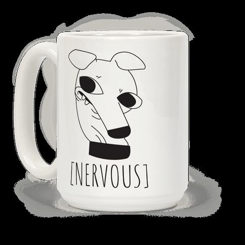 Nervous Dog Coffee Mug