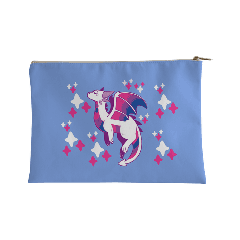 Bi Pride Dragon Accessory Bag