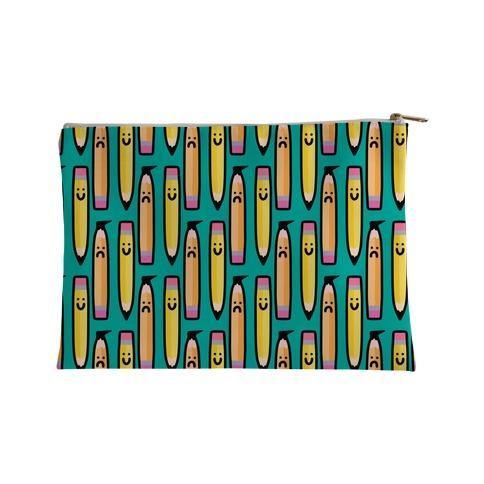 Emotional Pencil Pattern Accessory Bag