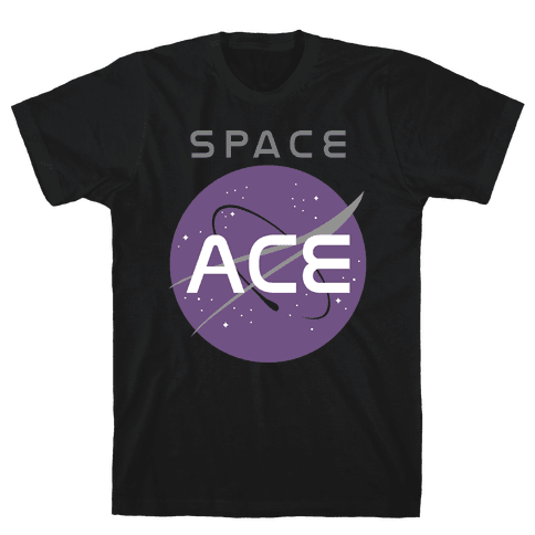 Space Ace Mens T-Shirt