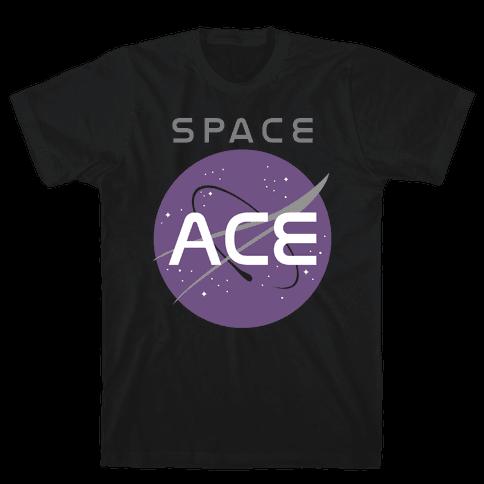 Space Ace Mens T-Shirt