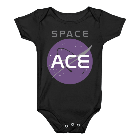 Space Ace Baby Onesy
