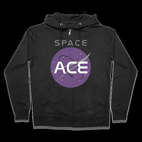 Space Ace Zip Hoodie