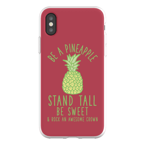 Be a Pineapple Phone Flexi-Case
