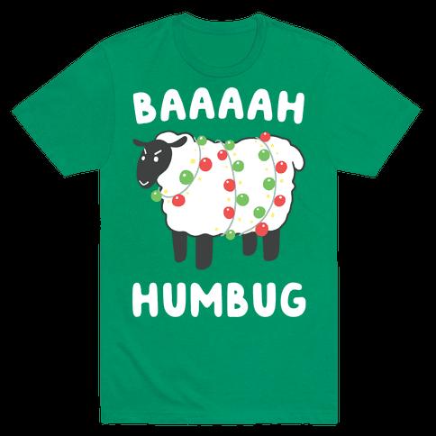 Baaaaah Humbug Mens T-Shirt