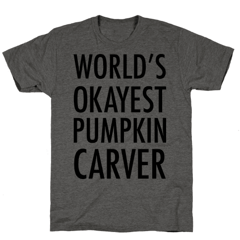 World's Okayest Pumpkin Carver