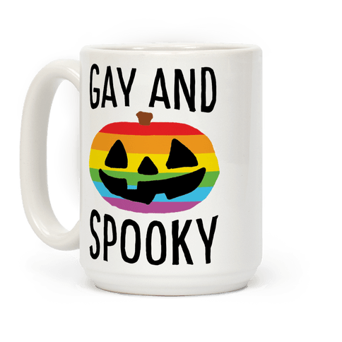 Gay And Spooky Coffee Mug
