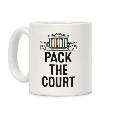 Pack The Court with Pride Coffee Mug