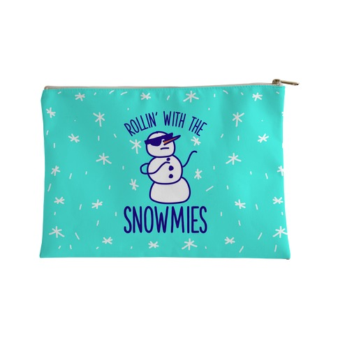 Rollin' With The Snowmies Accessory Bag