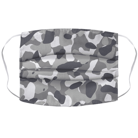 Camo Pattern Face Mask Cover