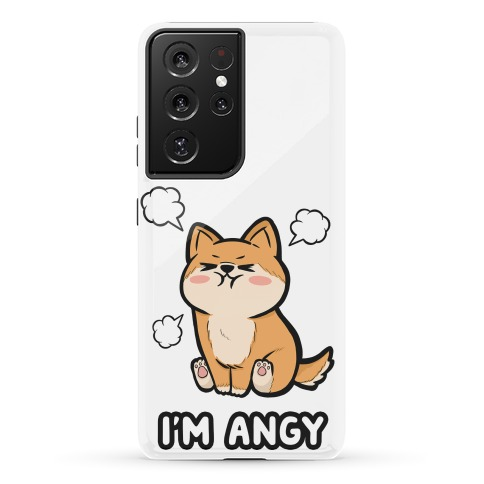 I'm Angy Shiba Inu Phone Case