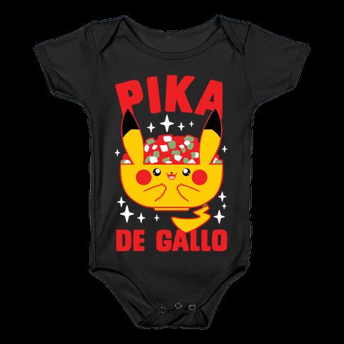 Pika De Gallo Baby Onesy
