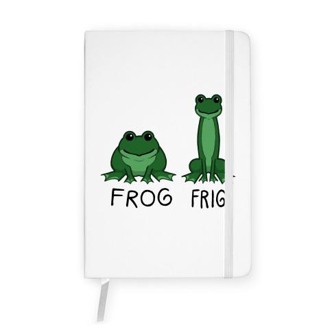 Frog, Frig Notebook
