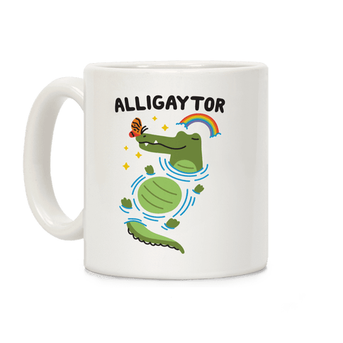 Alligaytor (Gay Alligator) Coffee Mug