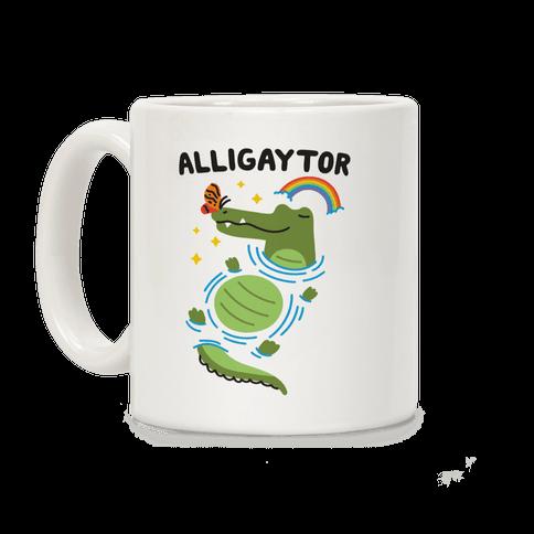 Alligaytor (Gay Alligator) Coffee Mug