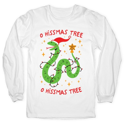 O Hissmas Tree Long Sleeve T-Shirt