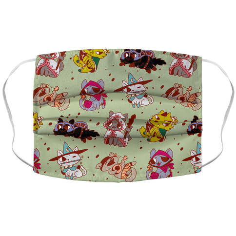 Warrior Cats Face Mask Cover