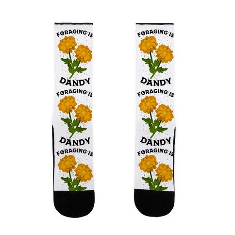 Foraging is Dandy Sock