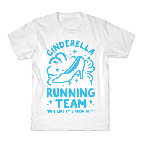 Cinderella Running Team Kids T-Shirt