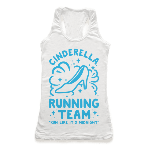 Cinderella Running Team Racerback Tank Top