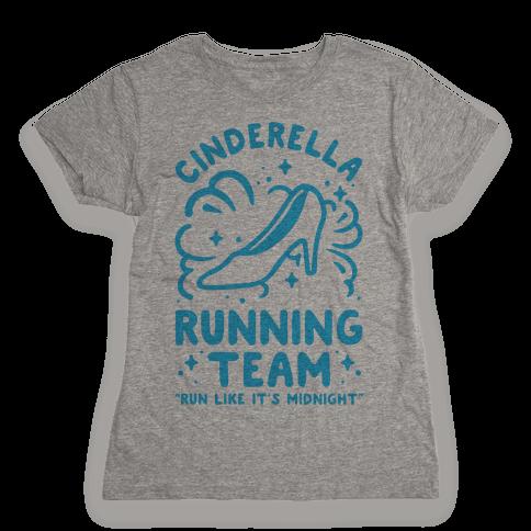 Cinderella Running Team Womens T-Shirt