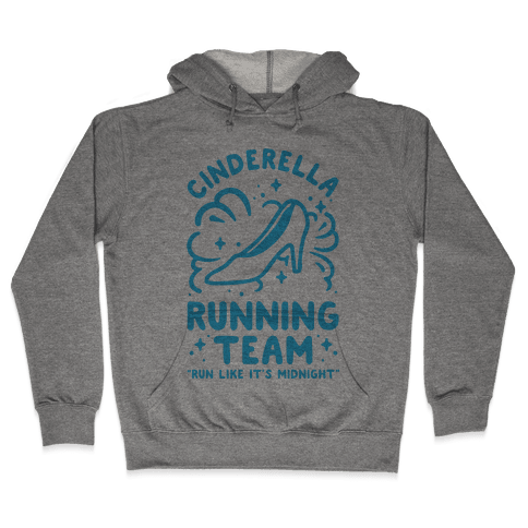 Cinderella Running Team Hooded Sweatshirt