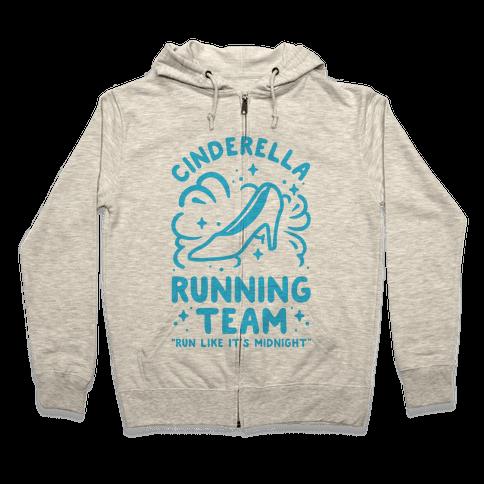 Cinderella Running Team Zip Hoodie