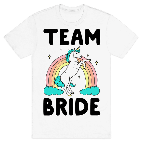 Magical Team Bride Mens T-Shirt
