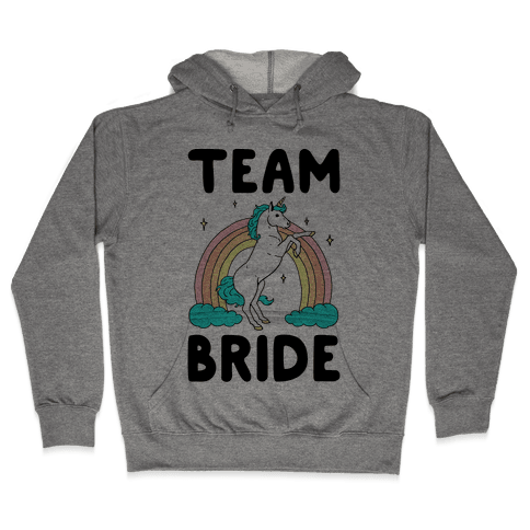 Magical Team Bride Hooded Sweatshirt