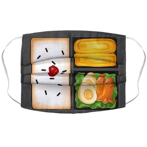 Bento Box Face Mask Cover