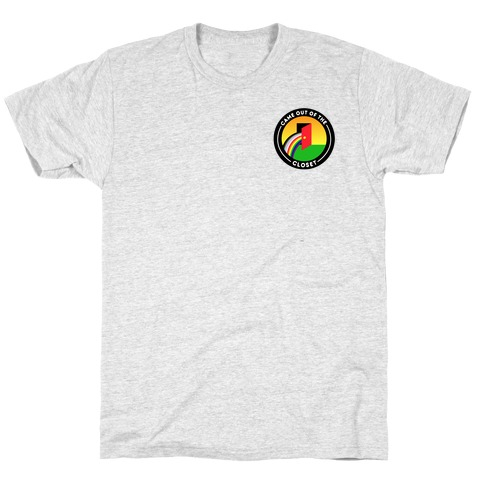 Came Out of The Closet Patch Version 2 T-Shirt