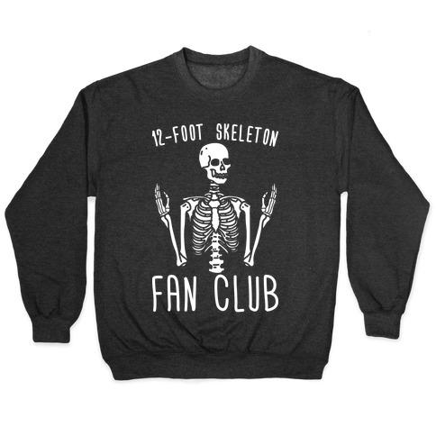 12-Foot Skeleton Fan Club Pullover
