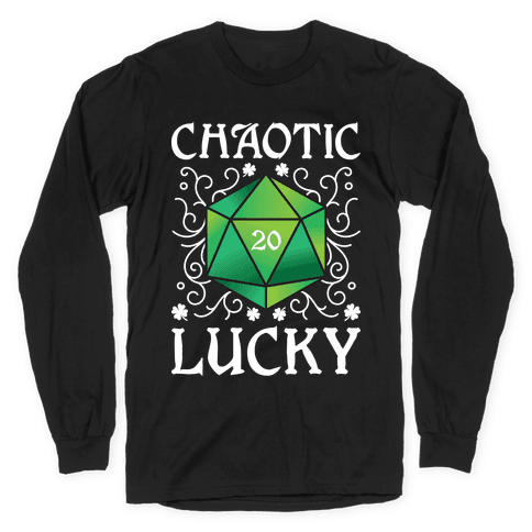 Chaotic Lucky Long Sleeve T-Shirt